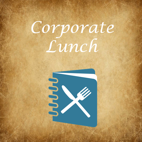 Corporate Lunch Menu